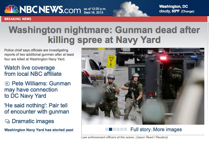 Washington Naval Yard Shooting