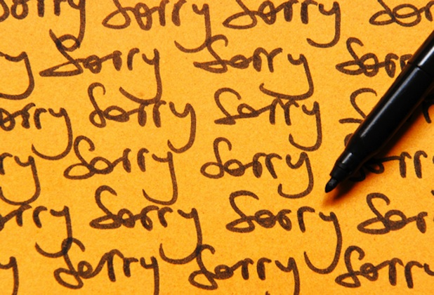 The Beauty of Saying 'I'm Sorry'