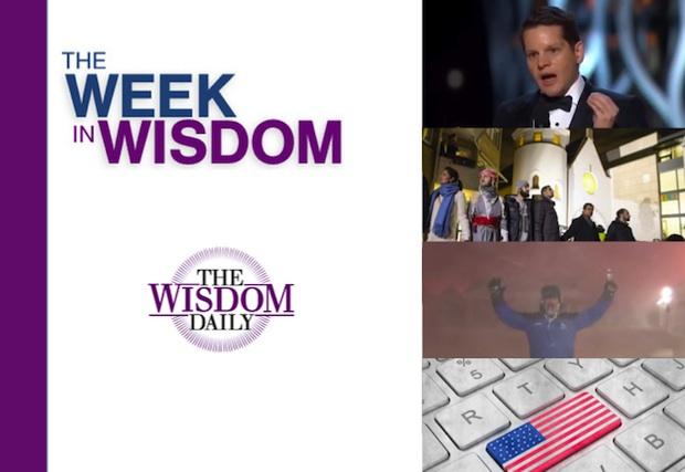 Joyful Jobs, Interfaith Unity and Staying Weird: Our Week in Wisdom