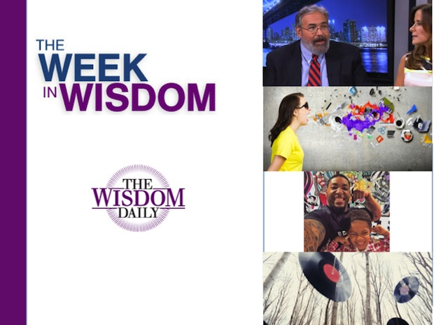 A Fun Flashback, a Slow Stroll, a Joyful Dad: Our Week in Wisdom