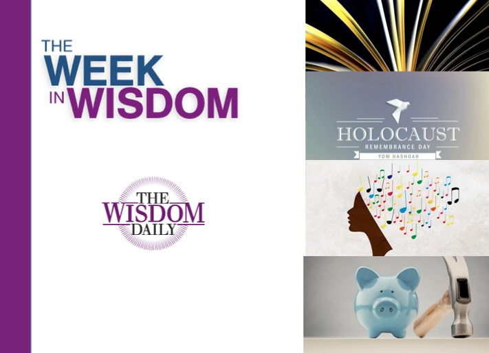 Healing, Investing, Storytelling: Our Week in Wisdom