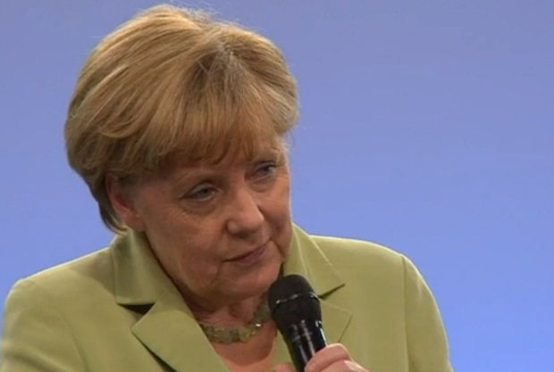 The German Chancellor and the Crying Refugee