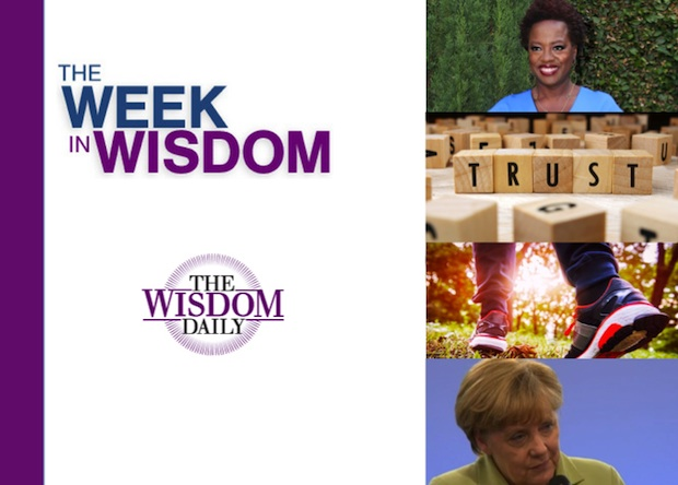 Trust, Tears and Creativity: Our Week in Wisdom
