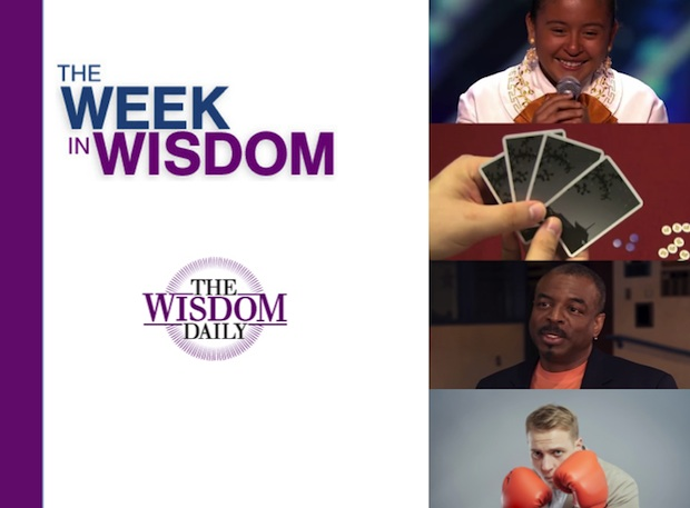 Games, Talent and Lasting Love: Our Week in Wisdom