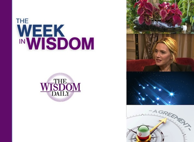 Dealmaking, Filmmaking, Stargazing: Our Week in Wisdom