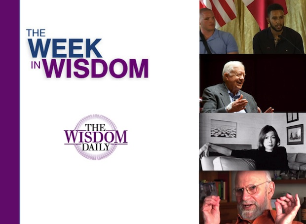 Heroes, Leaders and an Ice Rink: Our Week in Wisdom