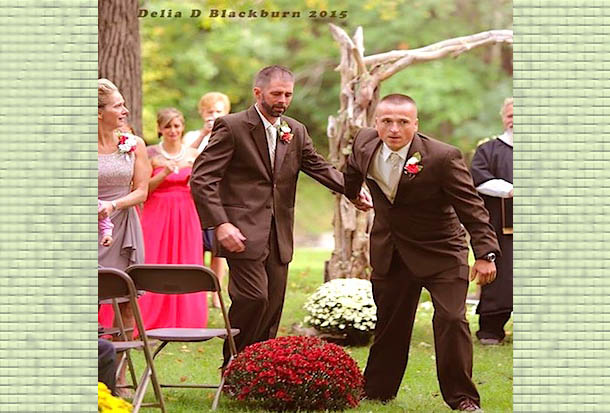 A Wedding Made Unforgettable by Dad's Decision