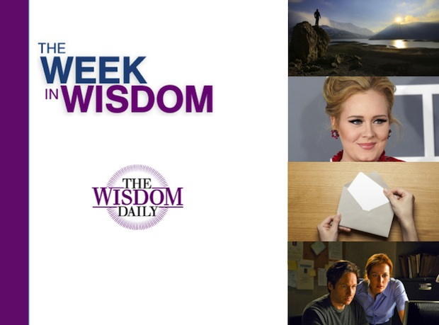 Gratitude, Betrayal and Scully: Our Week in Wisdom