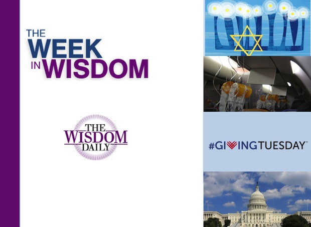 Holiday Light, College Kids and Generosity: Our Week in Wisdom