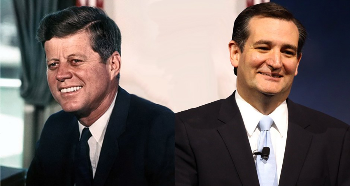 Ted Cruz is No JFK! Or is He?