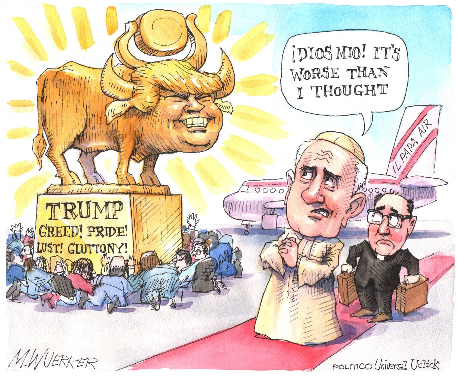 Donald Trump Is This Generation's Golden Calf