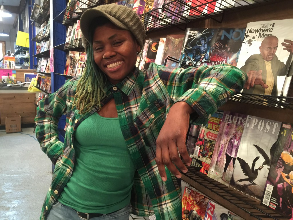 The Comic Book Store Owner Who Is A Real Life Wonder Woman