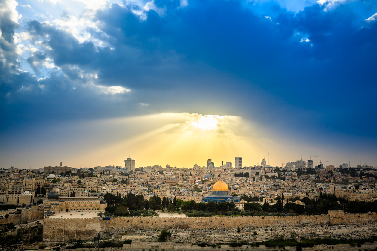 Thinking And Praying Over Jerusalem