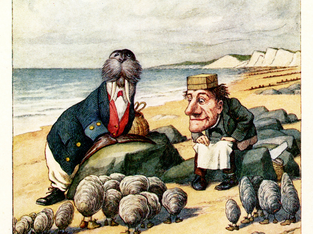 The Wisdom In Carroll's Nonsensical Poem, The Walrus And The Carpenter