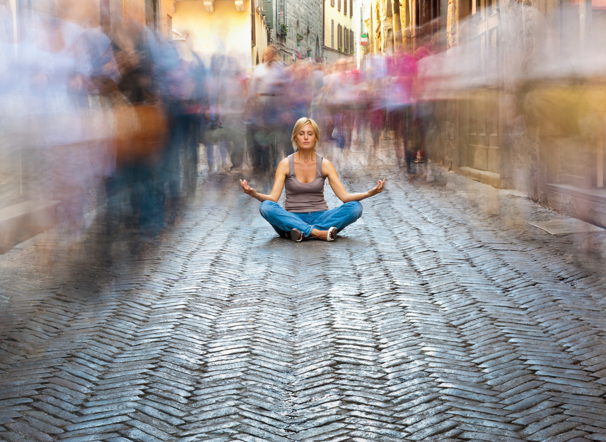 Why I Meditate In Public