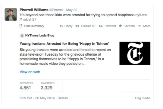 Video: Fearful of Being Happy in Iran