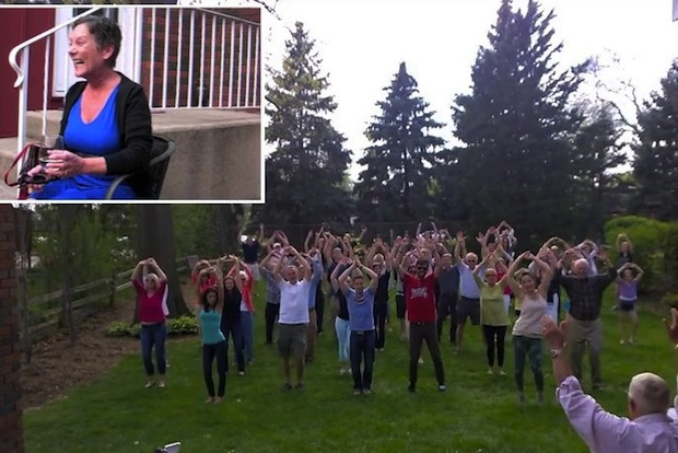 A Flash Mob of Love
