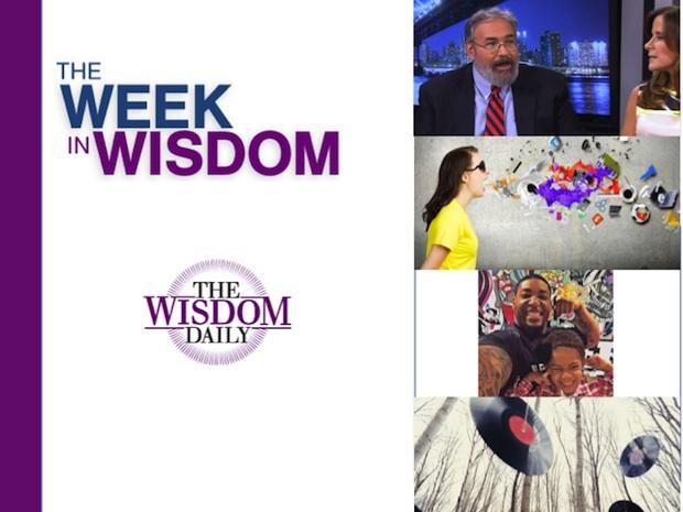 A Fun Flashback, a Slow Stroll, a Joyful Dad: Our Week in Wisdom