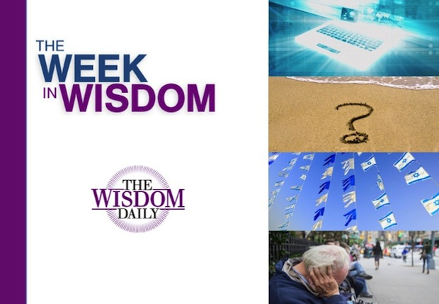 Giving, Rebelling and Slowing Down: Our Week in Wisdom