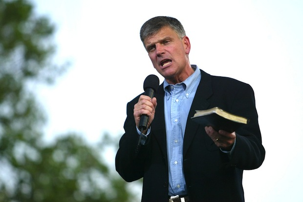 A Family Values Fumble for Reverend Franklin Graham