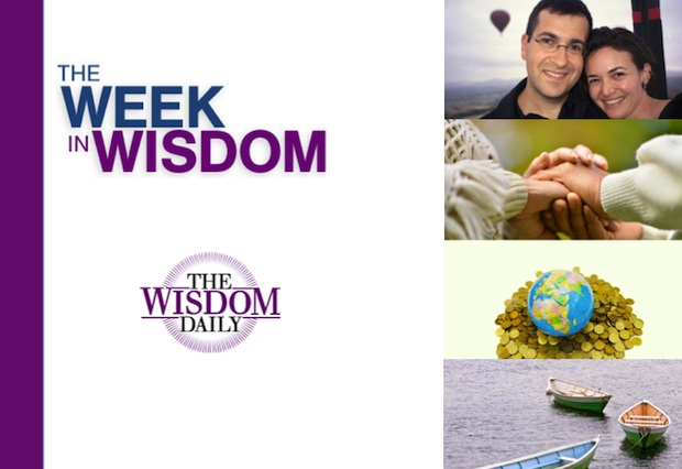 Peace, Hands and Robots: Our Week in Wisdom