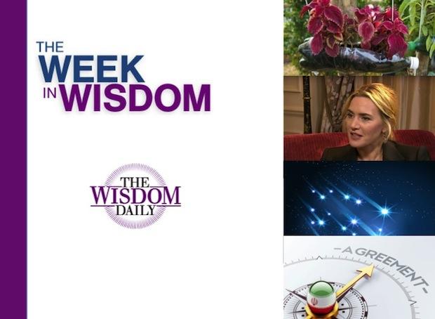 Dealmaking, Filmmaking, Stargazing: Our Week in Wisdom