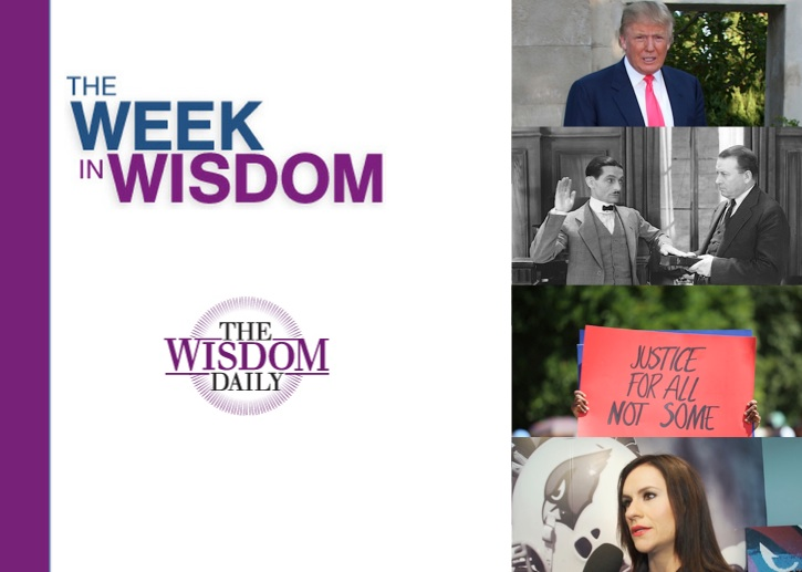 Truth, Trump and School Days: Our Week in Wisdom