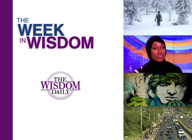 Teardrops, Civility and Hope: Our Week in Wisdom