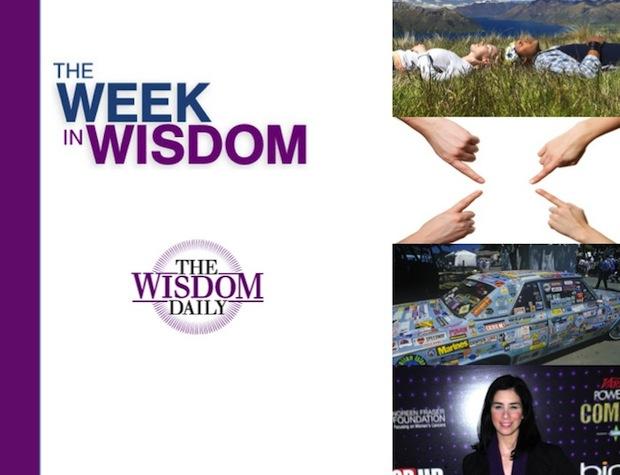 Breathing, Curiosity and Blame: Our Week in Wisdom