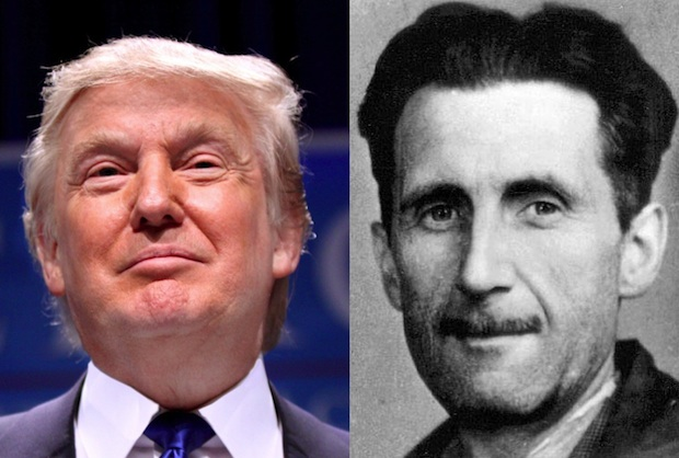Talking About Donald Trump: Why We Should Channel George Orwell