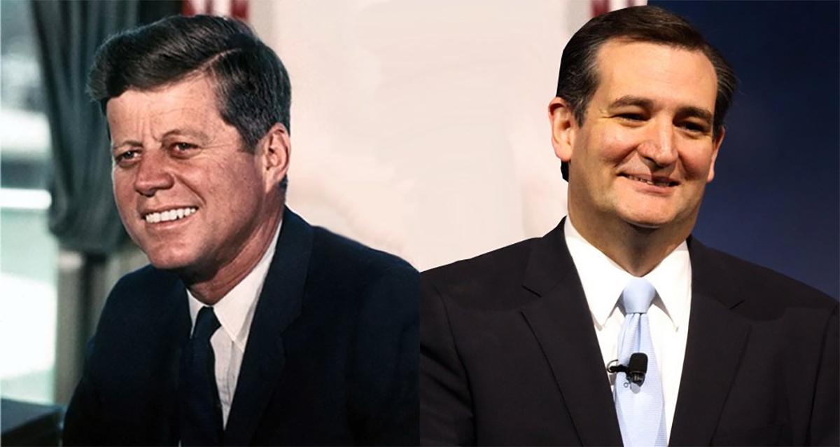 Ted Cruz is No JFK! Or is He?