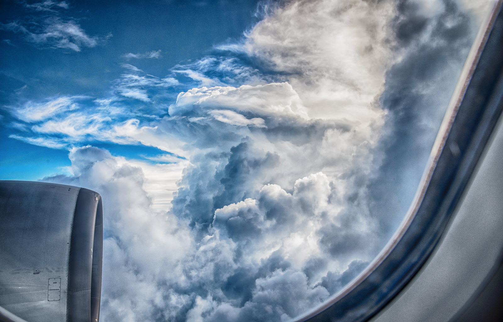 Beyond The Ceiling Of Clouds