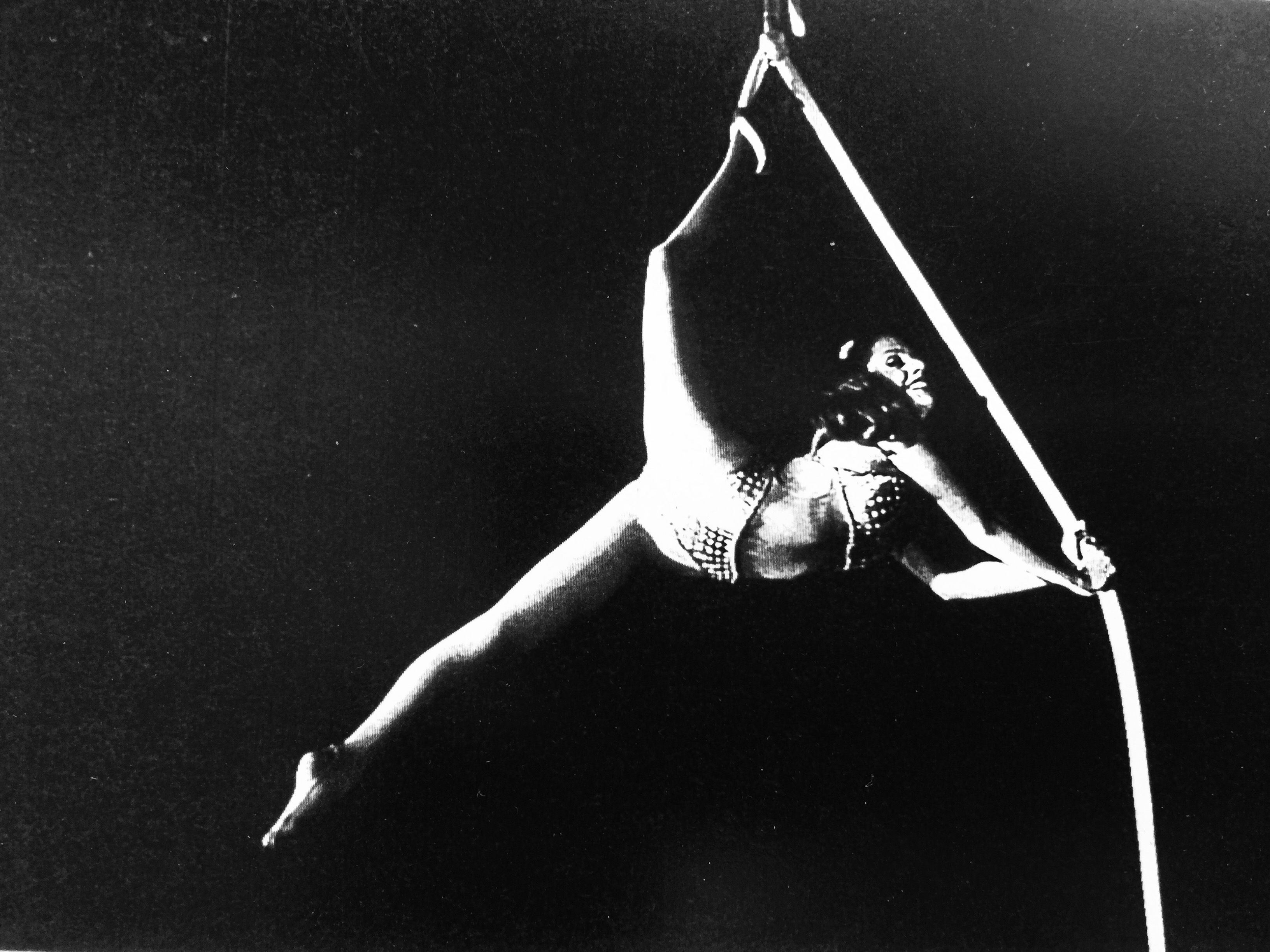 The Circus Aerialist Who Doesn't Take Risks