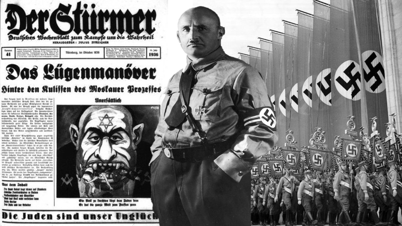 The Man Who Entertained Germans With Vile Antisemitic Propaganda