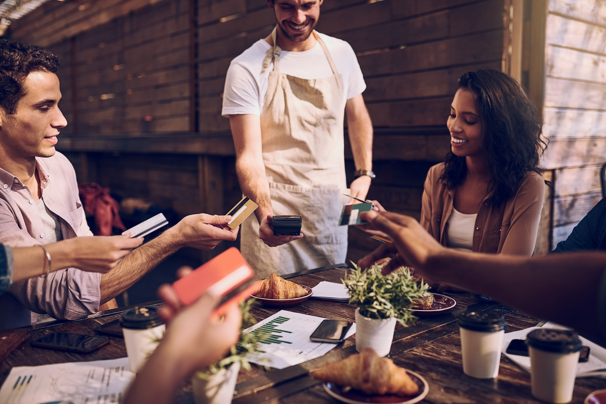 Separate Restaurant Checks Would Spur Harmony and Diverse Friendships