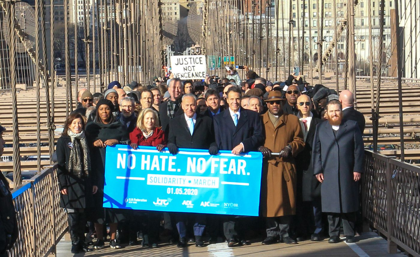I Walked In The March Against Antisemitism To Reclaim Our Home