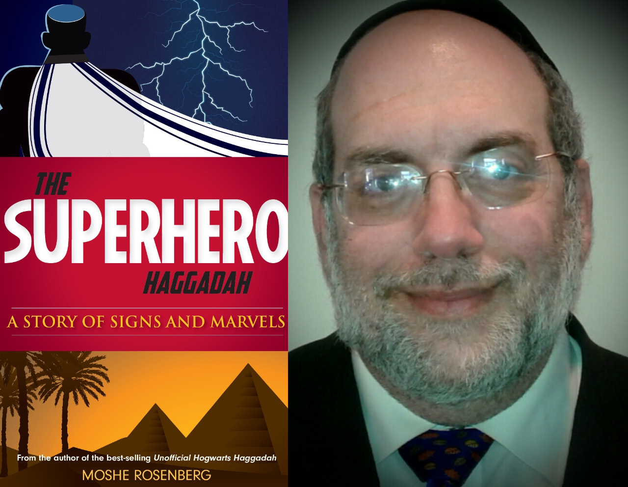 Moshe Rosenberg On His New Superhero Haggadah